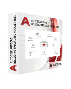 AutoCAD - including specialized toolsets AD Commercial New Single-user ELD Annual Subscription [C1RK1-WW1762-L158]
